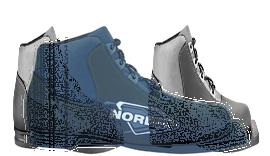 Ботинки лыжн. Spine Nordik 75мм (синт.) р.30-47 (р.46)
