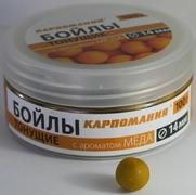 Бойлы КАРПОМАНИЯ тонущие с ароматом МЁДА 100g-14mm