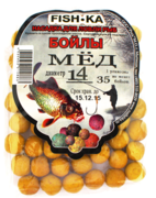 Бойлы FISH.KA Мёд 14мм-100г