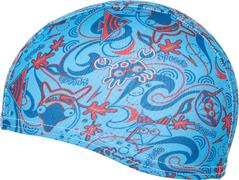 Шапочка для плав. Speedo Sea Squad JR (полиэстер) арт.8-07997 (цв.7963(мульти))