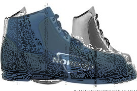 Ботинки лыжн. Spine Nordik 75мм (синт.) р.30-47 (р.37)