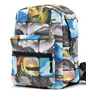 Рюкзак с застежкой-молнией, цв.мультиколор, A.K.S., P32