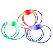 Шнурки светящиеся JY-3009 1 светодиод, 2 режима (цв.синий)