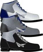 Ботинки лыжн. Tempus 75 мм (синт.) (р.45, цв.черный)